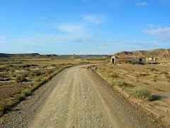 De camí cap a Fort Pistraus