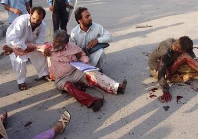 Serangan Bom di Pakistan, 42 Tewas