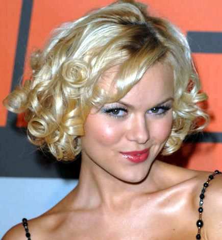 Stylish Curly Bob Hairstyles Fashion 2010 -11