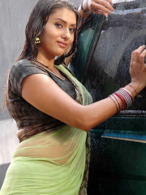 Namitha in Saree Looking Beautiful