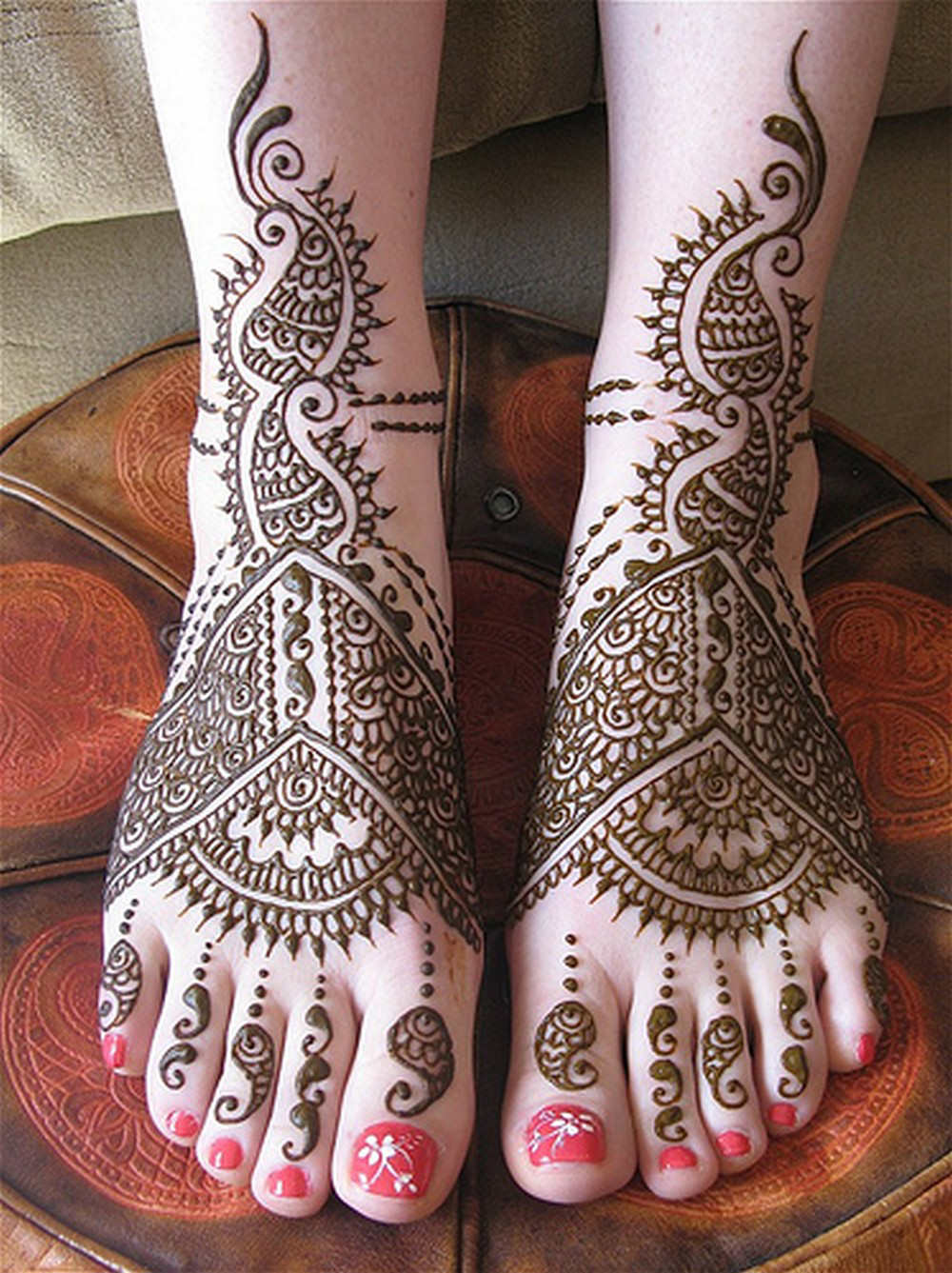 Feet Mehndi For Eid : Feet mehndi designs for eid all latest henna patterns