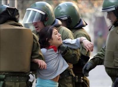 El poder impone la cultura de la violencia y el miedo social