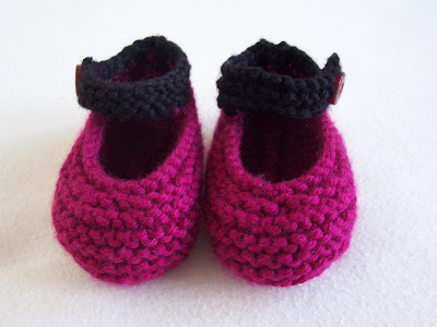 High Back Mary Jane Booties - Free Patterns - Download