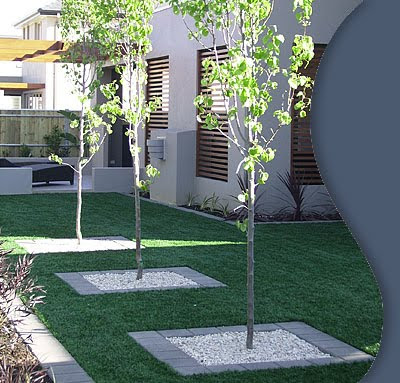 Faux grass dutch touch landscaping