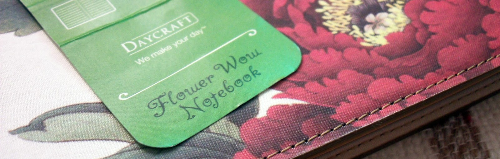 Notebook review daycrafts flower wow rants of the archer im always happy to receive new products to review especially ink and paper when foreal lee of daycraft tai shing diary ltd emailed me to ask if i am mightylinksfo