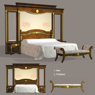 Classic and antique luxurious furniture