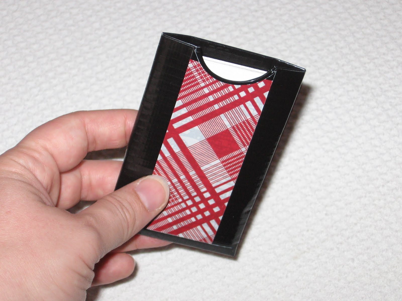 Delirious Duct Tape Designs: Business Card Holders