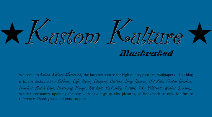Kustom Kulture illustrated