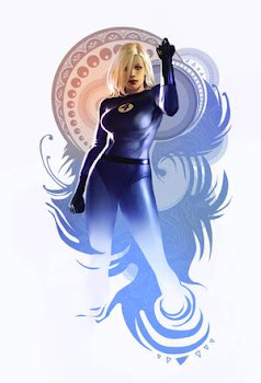 Susan Storm Richards- Invisible Woman