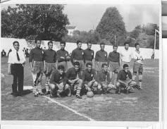 Equipa de futebol do IVS primeira metade dos 50