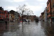 Natale con Pioggia a Venezia