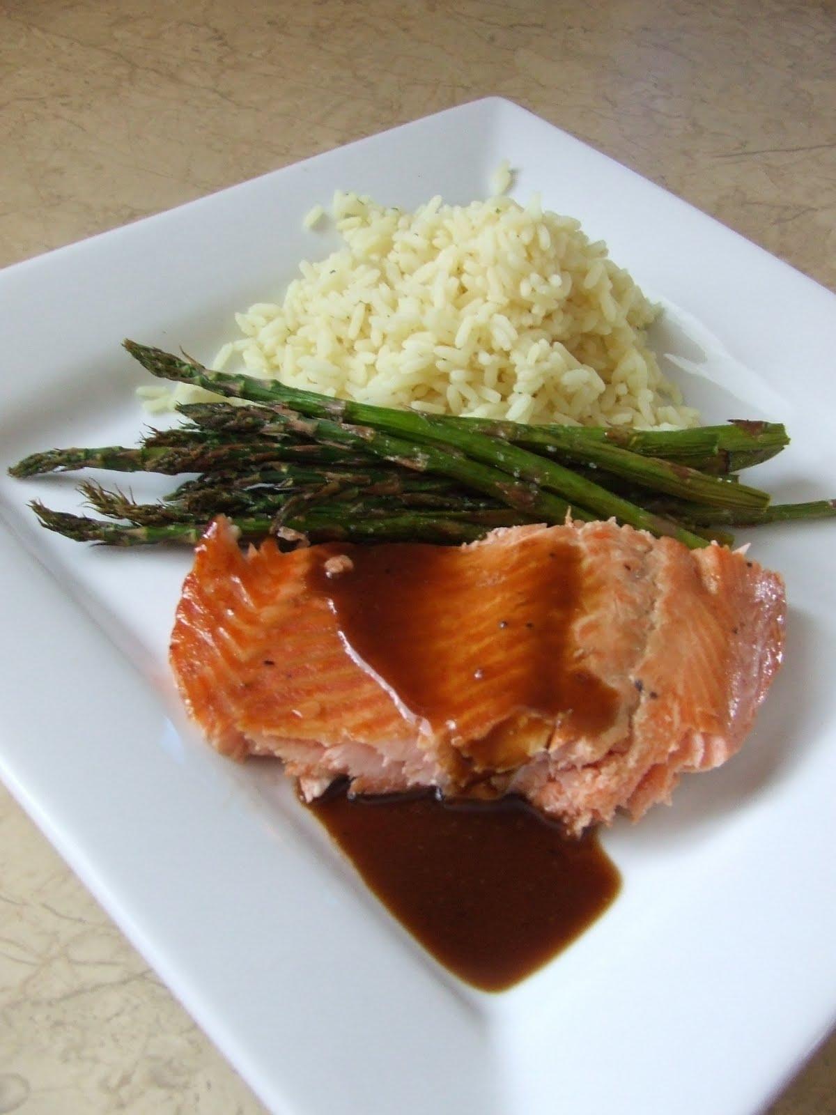 filets de saumon rable blasamique folies culinaires et autres gourmandises. Black Bedroom Furniture Sets. Home Design Ideas