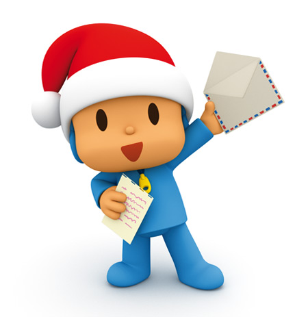 ... link if next year you want write a letter to Santa Claus with Pocoyo