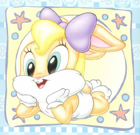 Lola Bunny bebe imagenes para imprimir - Imagenes y dibujos para ...