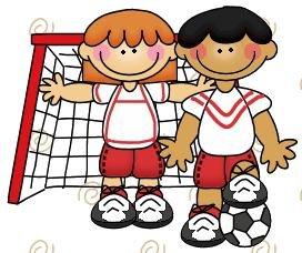 Deporte Para Imprimir  Imagen De Ni  Os En La Porteria De Futbol