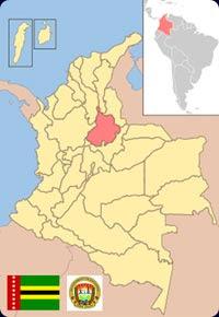 Santander: departamento de Colombia