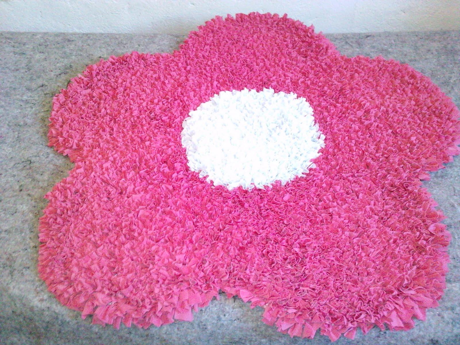 Arte Em Tapete De Retalho : Artesanatos: Tapetes de flor