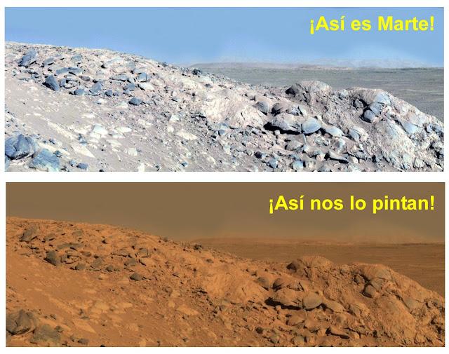 Desmintiendo: Marte es Exactamente igual a la Tierra