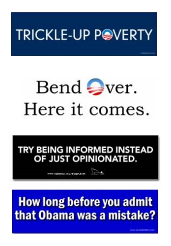 obama bumper stickers