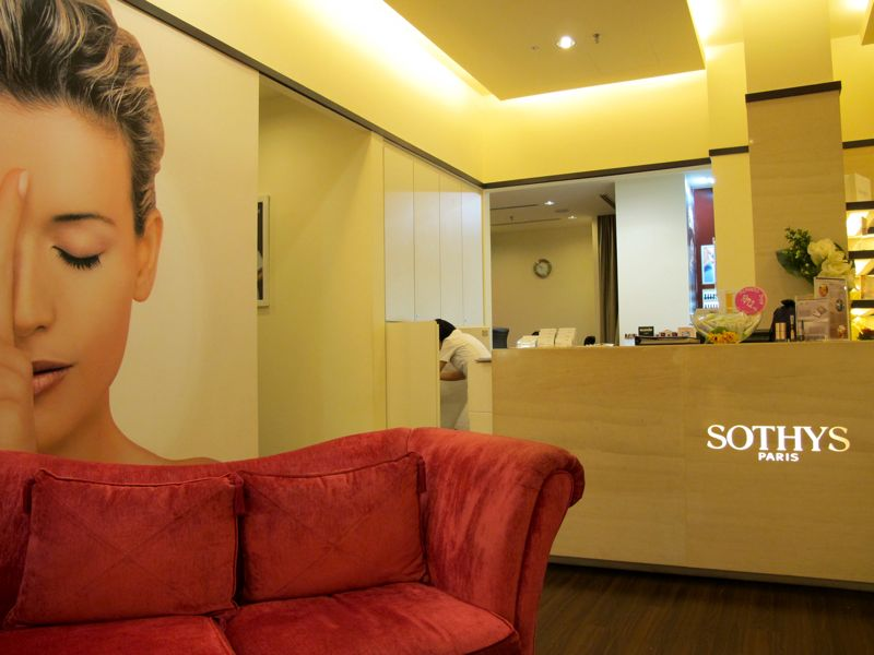 Shazwani hamid 39 s blog soothingly sothys for 128 faubourg salon by sothys
