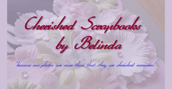 Cherished Scrapbooks by Belinda