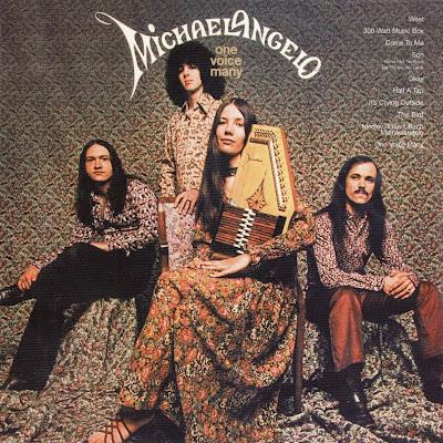 Pochettes psychédéliques ou hippies Michael+-+Front