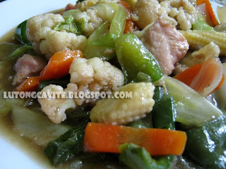 how to cook chopsuey pork