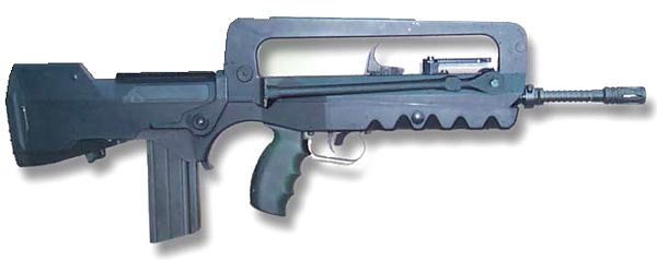 FAMAS F1 and Famas G-2 Assault Rifle Bullpup Variant ...