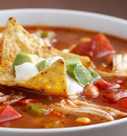 the a cozy fall vibe as well chicken fajita soup
