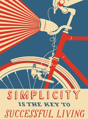 Simplicity is the key to successful living, by Nick Dewar