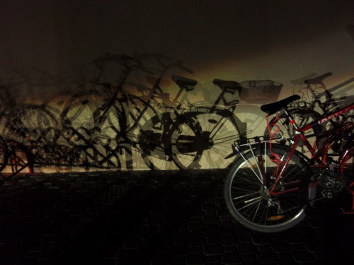 Cycling is good for you: The pure joy of cycling at night