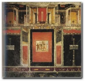 Viaje a italia los cuatro estilos de pintura de pompeya for La casa de las pinturas