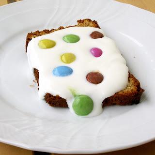 torta integrale allo yogurt con smarties