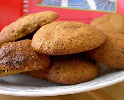 biscotti alla banana e cioccolato fondente senza uovo