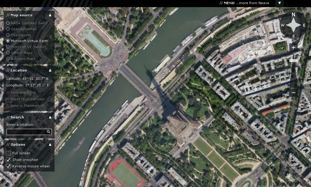 Arbeitsblatt Vorschule neave space invaders : aOrante Blog: Flash Earth. Visualizador en flash de mapas satu00e9lite.