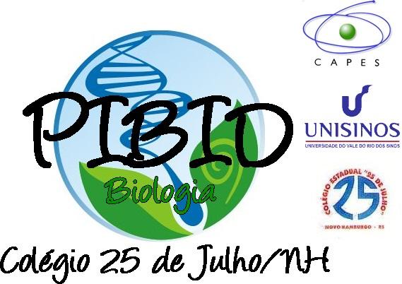 Projeto PIBID Biologia - Colégio 25 de Julho/NH