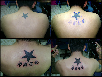 mundo del tatuaje. Dando mis primeros pasos en el mundo del tatuaje, aproveché la oportunidad