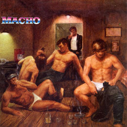 Not Actual Artwork, However Another Great Macho LP