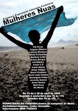 Flyer da Exposição Mulheres Nuas