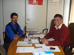 Presidente do Legislativo recebe visita do Motorista João Paulo