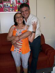 Presidente do Legislativo recebe visita de sua mãe Sueli Rodrigues Menezes