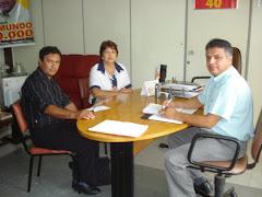 Vereador Edmundo Recebe Visita do Coord. do PSB Regional Pastor Afonso Fontoura e da Srª Joanina