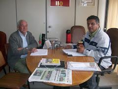 Vereador Edmundo da Rosa recebe visita do Sec. Planejamento Jorge Oliveira