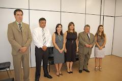 VER.EDMUNDO EM SOLENIDADE DE POSSE DA NOVA JUIZA DA COMARCA DE ROSÁRIO DO SUL EM 18/03/2010