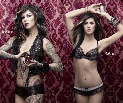 tattoo concealer. Kat Von D#39;s tattoo concealer.