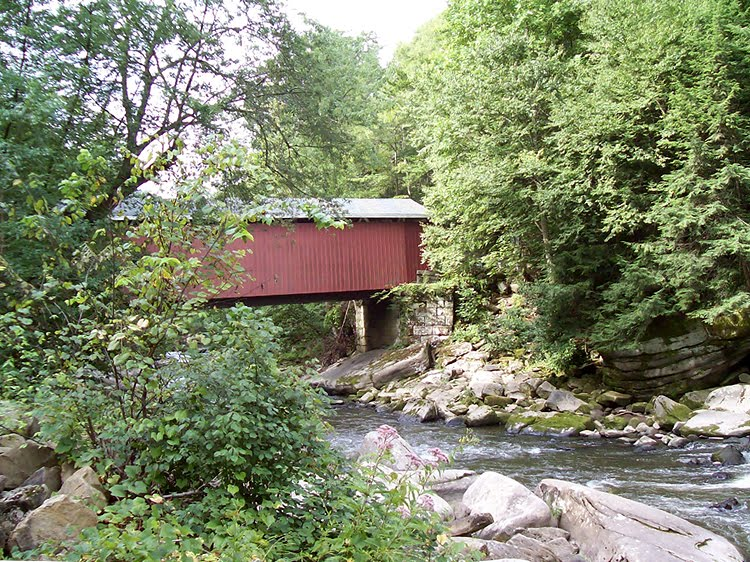 The Covered Bridge in McConnells Mill