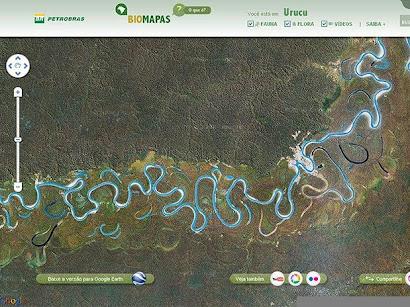 PETROBRAS E GOOGLE LANÇAM MAPA SOBRE A AMAZÔNIA - CLIQUe NA FOTO PARA VER