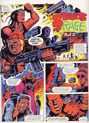 Sega Memories: S.T.C Streets of Rage Comic Online