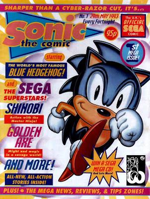 sega memories classic sonic comics online for all to read