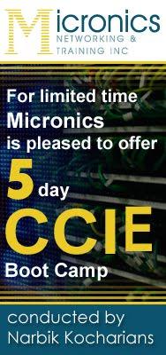 Narbik Kocharians's CCIE Bootcamp
